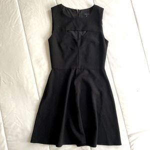 French connection Black Cut Out Sz 4 Dress
